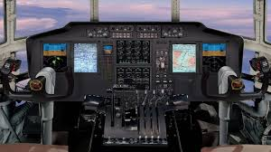 avionics - cockpit view
