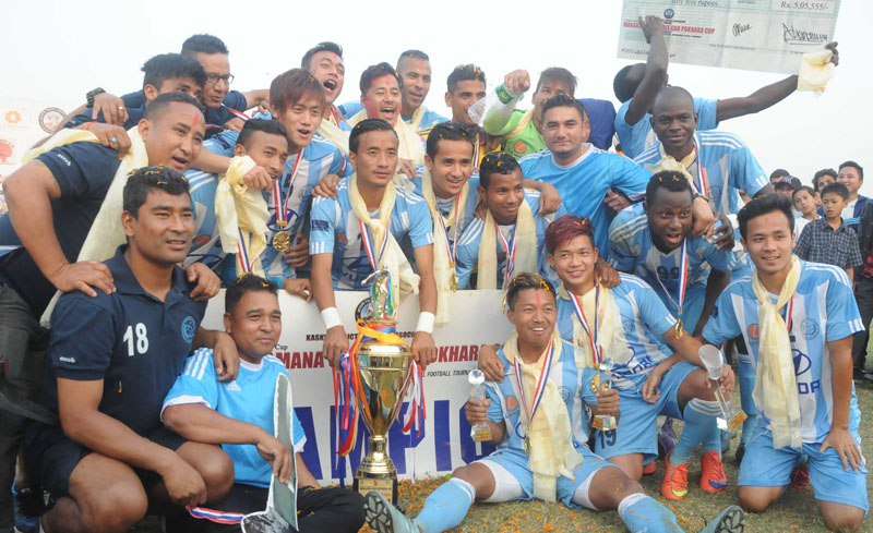 manang marsyangdi club, most successful club in nepalese footall