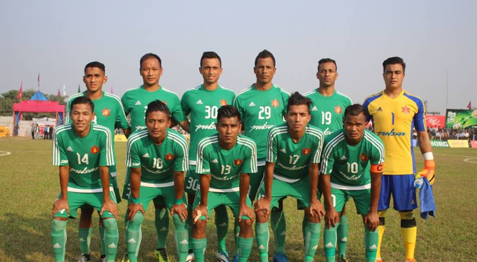 nepal army club, departmental club of nepalese football