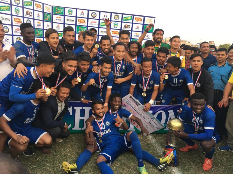 three star club; one of the popular clubs in nepalese football