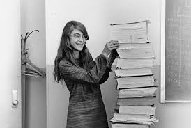 Margaret Hamilton- computer scientist and programmer who helped us to reach the moon