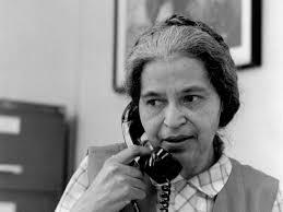 Rosa Parks- first lady civil activist